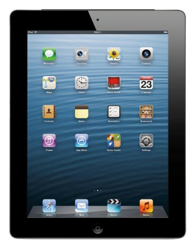 Price comparison product image Apple iPad 4 32GB Wi-Fi - Black