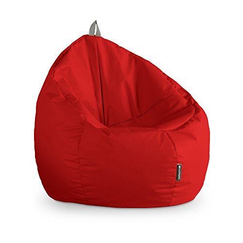 HAPPERS Puff Junior Polipiel Outdoor Rojo