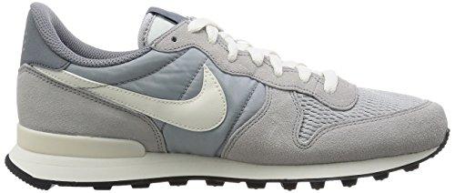Nike Herren Internationalist Sneakers Grau  (015 WOLF GREY/SAIL-SAIL)
