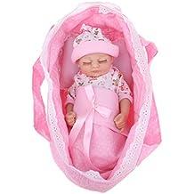 Sharplace Conjunto de Accesorios de Dormir de Bebé Renacido Incluye Saco de Dormir Almohada para 11inch