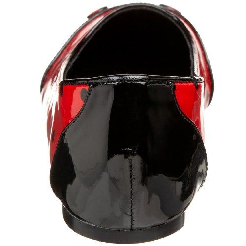 LADYBUG-18 Blk-Red Pat