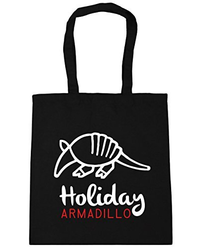 hippowarehouse-holiday-armadillo-tote-shopping-gym-beach-bag-42cm-x38cm-10-litres