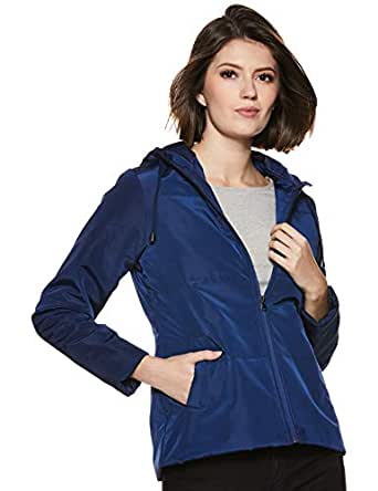 ABOF Women's Quilted Jacket (BOA19AWWWJK4048768_Cobalt_S)