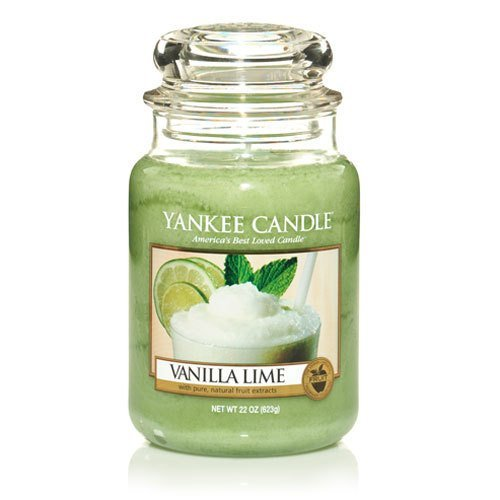 Yankee Candle Company Vanilla Lime Large Jar Candle by Yankee Candle