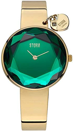 Storm London ALYA GOLD LAZER GREEN 47436/GD/G Orologio da polso donna