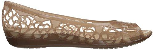 Crocs Isabellajlyfltw, Ballerines Femme Or (Bronze 854)