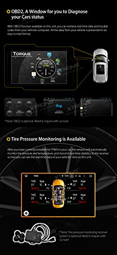 XTRONS® Android 8 0 Double Din Car Stereo Octa Core 4GB 32GB 2 Din Head  Unit Bluetooth Car Radio 7