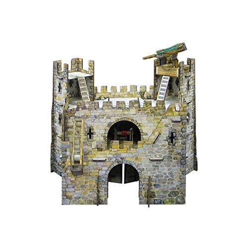 Keranova keranova32224x 15x 14cm Intelligente Carta Medievale Town Principale Gate 3D Puzzle