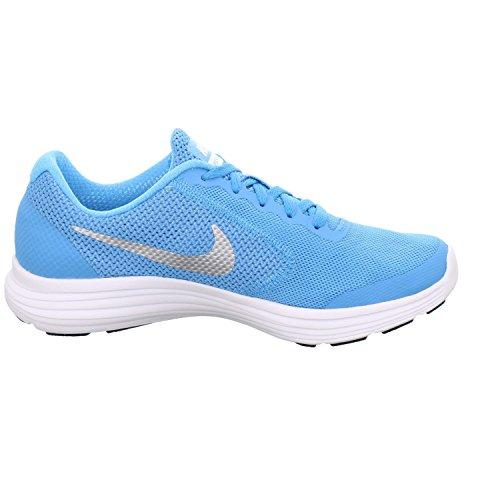 Nike Revolution 819416-403- Herrenschuhe Sneaker / Schnürschuh, Blau Lagune