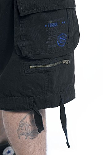 Brandit Savage Vintage Shorts Vintage Shorts schwarz Schwarz