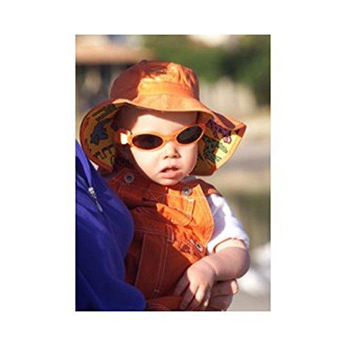 Baby Banz-Cappello da 0-2 anni, colore: arancione