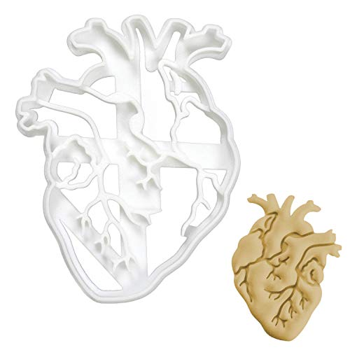 Bakerlogy Anatomisches Herz Ausstechform, 1 Teil