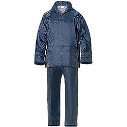 Wolfpack 15010015 Traje de Agua Impermeable Azul Nylon Talla 7-L