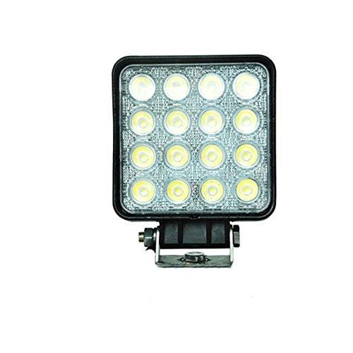 Licht, Linse, Dichtung (ZHITEYOU 12 / 24v CER ROHS IP67-Stelle / Flut Strahl 27W führte automatisches Arbeits-Lampe 48W Arbeits-Licht)