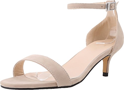 CFP , Damen Knöchel-Riemchen , beige - nude - Größe: 40