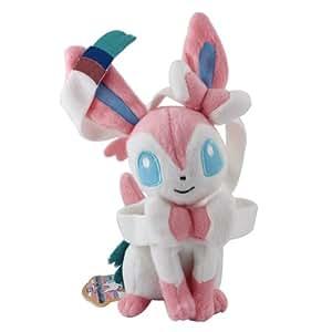 TAKARA 133 Pokémon Peluche Évoli en Nymphali 22 cm