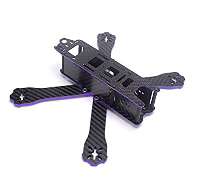 YoungRC 220mm FPV Racing Drone Frame kit Carbon Fiber X Quadcopter Frame with 4mm Arm