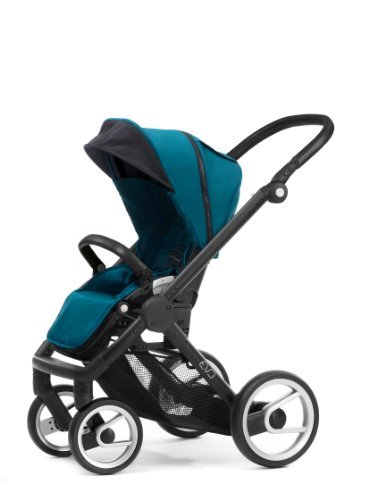 MUTSY EVO STROLLER WITH BLACK FRAME  PACIFIC BY MUTSY