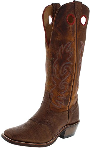 Boulet 0213 Buffalo Gold/Herren Westernreitstiefel Braun/Buckaroo Stiefel/Westernstiefel/Herrenstiefel, Groesse:41 (8 US) (Boulet Männer Boots Western)