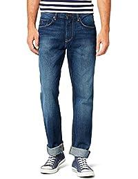 tommy hilfiger herren jeans straight leg regular fit mercer hose