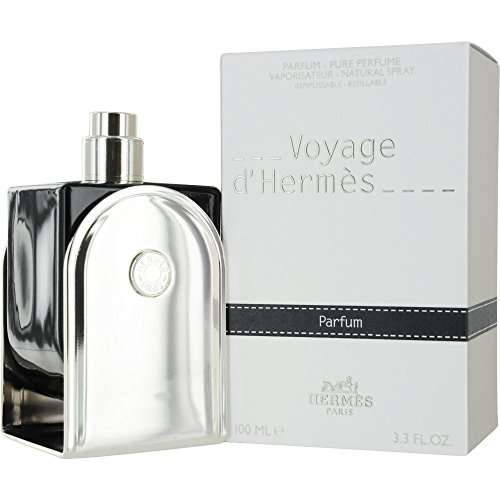 Hermes Voyage D'hermes Parfum Refillable Spray for Unisex, 100ml