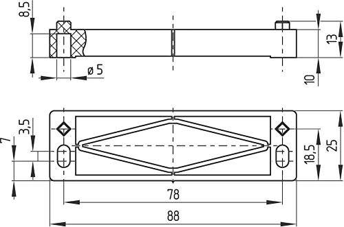Schmersal Magnetschalter BN 310-01z Magnetischer Näherungsschalter 4030661059433 - Magnetisches Relais