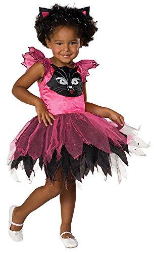 Mottoland Kitty Cat Kinder Kostüm Mädchen Katze Kleid - Kitty Cat Kostüm Kinder