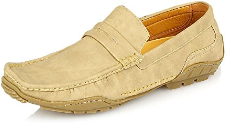 Hombre Casual Moccasins cordones Slip-On Zapatillas disponible en UK tamaños 6 – 11