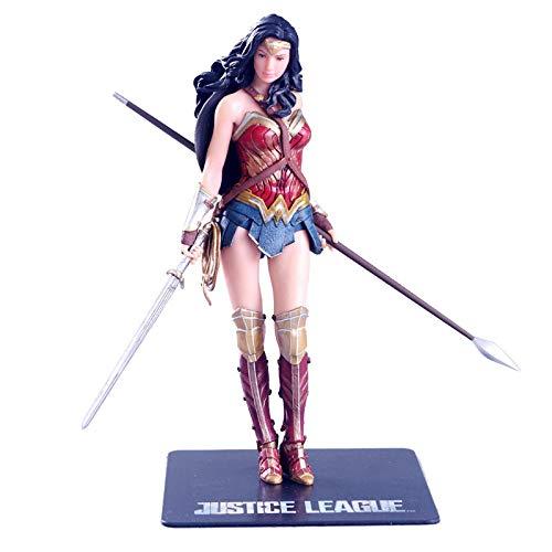 Yvonnezhang US-amerikanischer Dramaheld Art Wonder Woman Actionfigur Cartoonfigur Modell Statue
