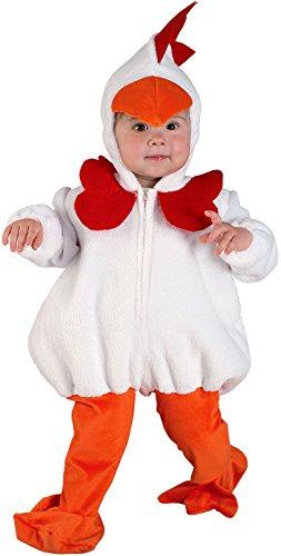 üm für Kinder Babykostüm (3-4 Jahre) (Huhn Baby Halloween Kostüm)