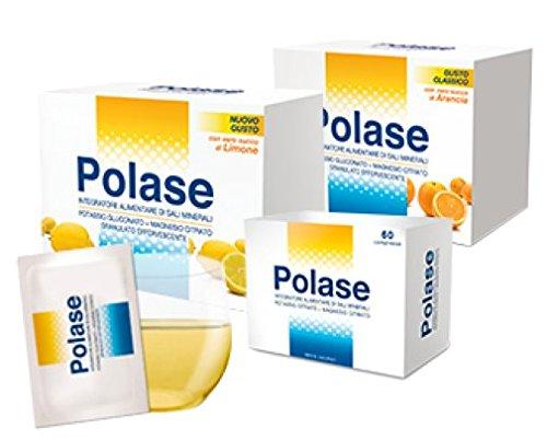 Polase - integratore alimentare di sali minerali - 24 bustine gusto classico arancia