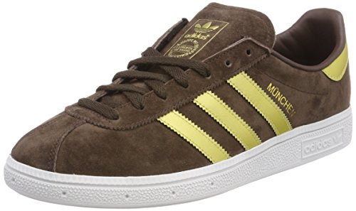 Adidas - Munchen - BY1722 - Color: Blanco-Dorado-Marrón - Size: 46.6 sJ3SVt7