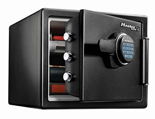 Cassaforte di Sicurezza Ignifuga, Antincendio e Resistente All'Acqua con Serratura Elettronica a Combinazione Digitale Programmabile - Grande Formato