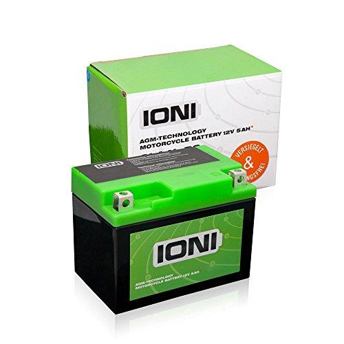 Roller Batterie 12V 5Ah +  / AGM IONI ION (TYP - SLA4L-BS) (versiegelt / wartungsfrei)