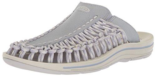 KEEN Women's Uneek Slide-W Sandal, Dapple Grey/Vapor, 8 M US