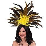 Haarreif Samba copricapi accessorio costume giallo di carnevale danza Rio
