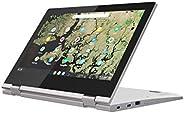 """Lenovo Chromebook C340, laptop z ekranem dotykowym 11,6 """"HD IPS (dwurdzeniowy Intel Celeron N4000, 4 GB R"""