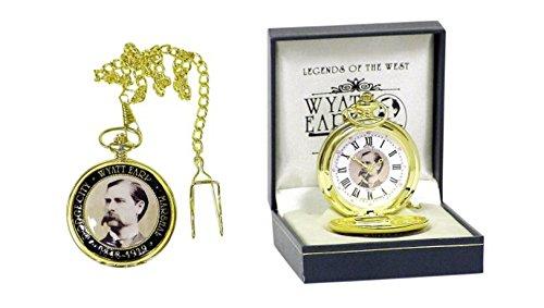 Unbekannt Runde Western Taschenuhr Wyatt EARP in Geschenkbox Uhr