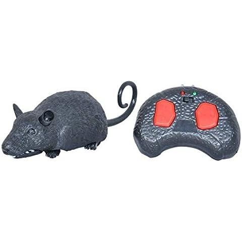 Ratón Robótico Teledirigido con Sonido | Ideal para Niños y Mascotas