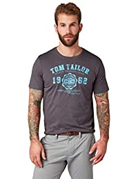 TOM TAILOR Herren Logo T-Shirt