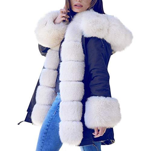 Wtouhe Jacke Damen Oversize Casual Mantel Übergangsjacke Winter Winterjacke Parka Lederjacke damenmode poloshirt rucksack jogginghose trucker handschuhe blusen hemd outdoor shop