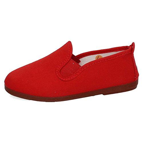 JAVER 55 Zapatilla Camping Mujer Zapatillas Rojo 37