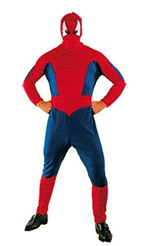 Imagen de disfraz spiderman rojo adulto  único, xxl