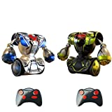 H-sunshy RC Battle Boxing Robot/Juguetes, Control Remoto Humanoid Fighting Robot con Control Joysticks Real Boxing Fight Experience