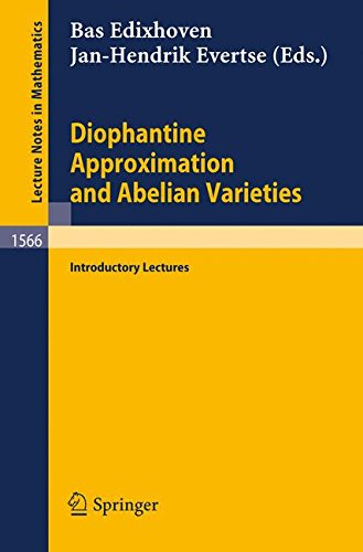Diophantine Approximation and Abelian Varieties: Introductory Lectures
