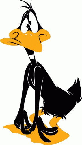 daffy-duck-cartoon-hochwertigen-auto-autoaufkleber-8-x-12-cm