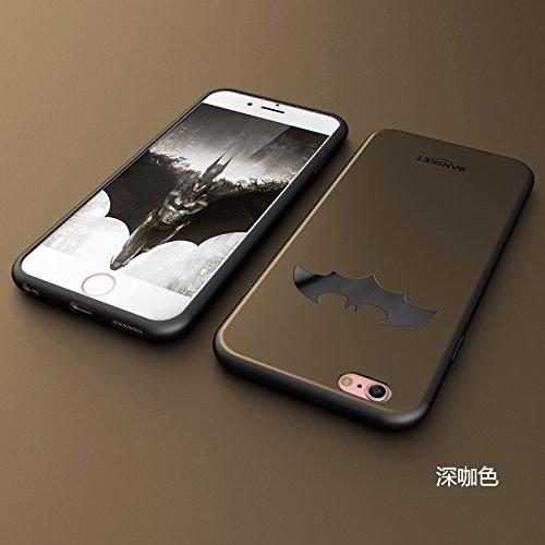 RONNEY'S BANSKEY Batman Soft TPU Case For Apple Iphone 6+/6S+ BLUE BROWN