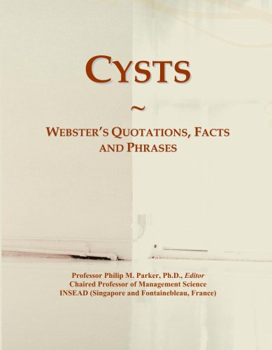 Cysts: Webster's Quotations, Facts and Phrases