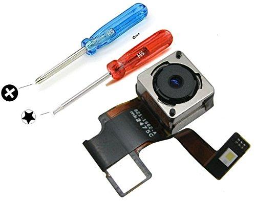MMOBIEL® Kamera Hauptkamera für iPhone 5 Series Ersatz 8 MP Autofocus LED Flash Blitz Rück Seite mit 2 x Schraubenzieher für einen einfachen Einbau