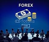 druck-shop24 Wunschmotiv: FOREX Banking Stock Market Finance Online Website Concept #119306656 - Bild als Klebe-Folie - 3:2-60 x 40 cm/40 x 60 cm